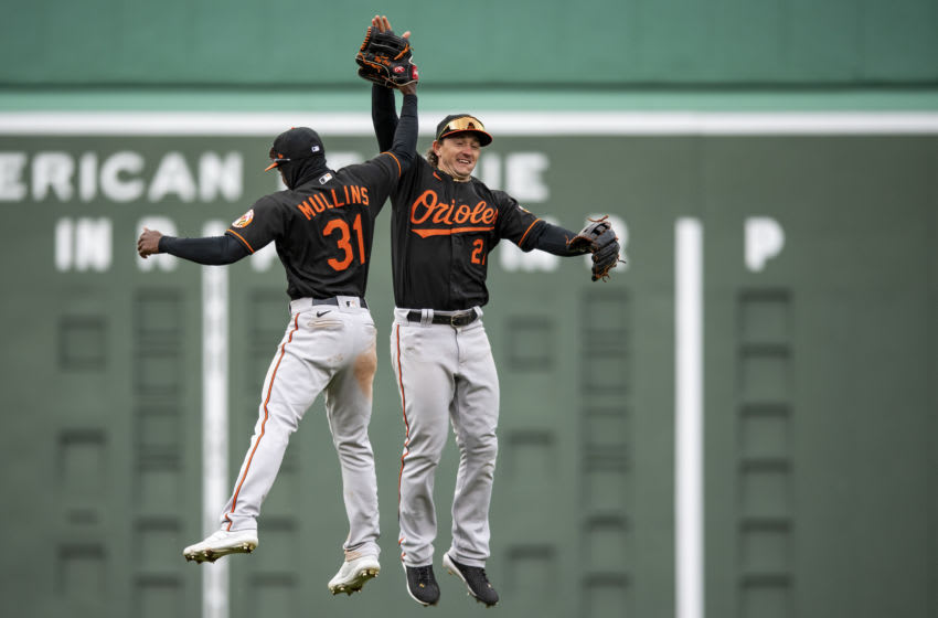 Cedric Mullins #31 of the Baltimore Orioles. (Photo by Billie Weiss/Boston Red Sox/Getty Images)