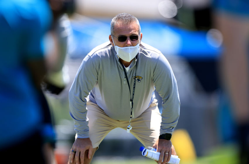 Head coach of the Jacksonville Jaguars Urban Meyer (Photo by Sam Greenwood/Getty Images)
