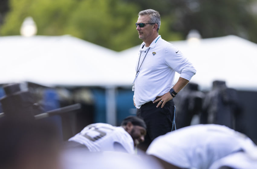 Head coach Urban Meyer of the Jacksonville Jaguars (Photo by James Gilbert/Getty Images)