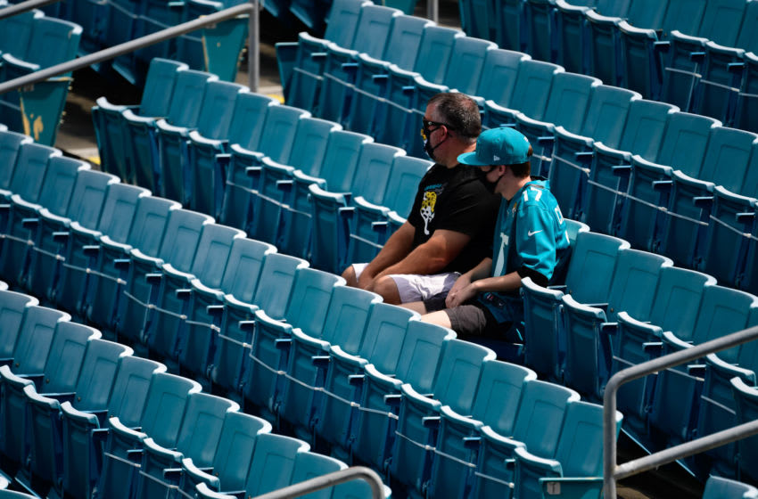 General view of Jacksonville Jaguars fans at TIAA Bank Field (Douglas DeFelice-USA TODAY Sports)