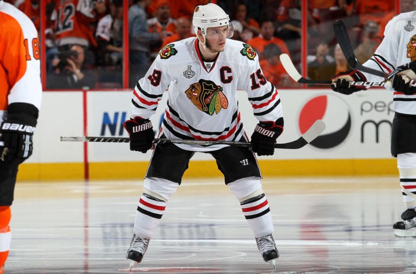Jonathan Toews #19, Chicago Blackhawks (Photo by Jim McIsaac/Getty Images)