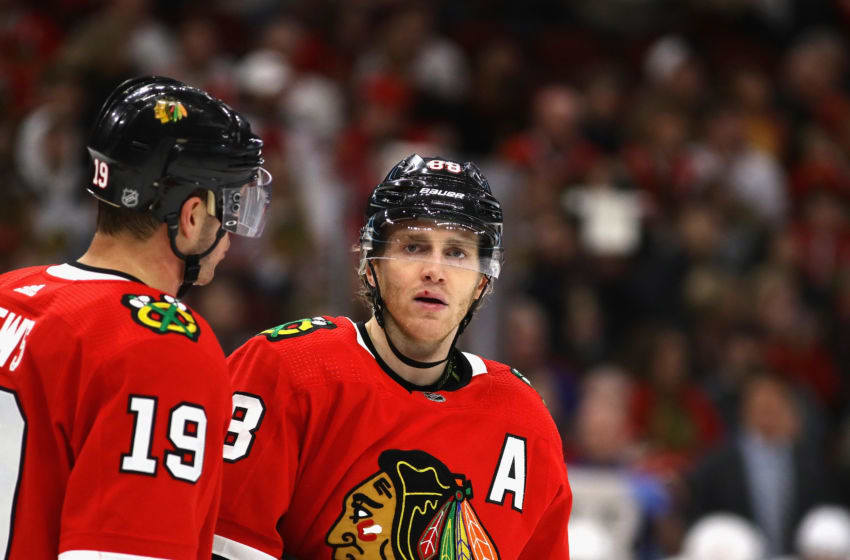 Jonathan Toews, Patrick Kane, Chicago Blackhawks (Photo by Jonathan Daniel/Getty Images)