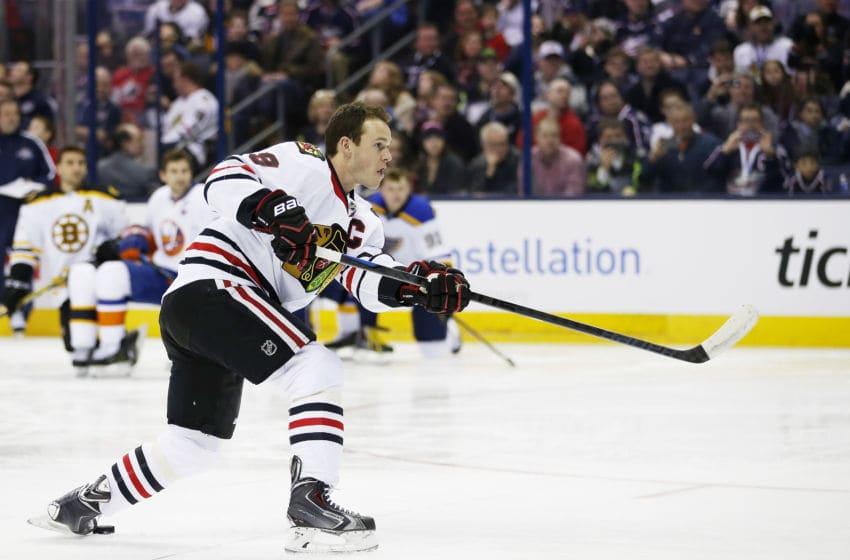 Jonathan Toews, Chicago Blackhawks (Photo by Gregory Shamus/Getty Images)