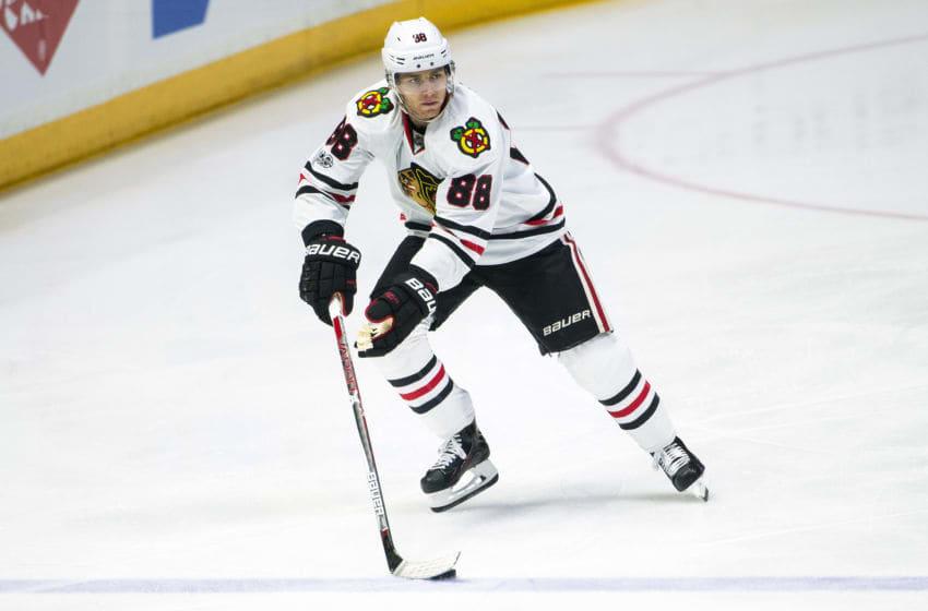 Patrick Kane, Chicago Blackhawks (Photo by Ronald C. Modra/NHL/Getty Images)
