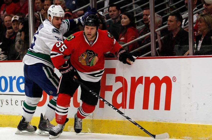 Ben Eager, Chicago Blackhawks (Photo by Jonathan Daniel/Getty Images)