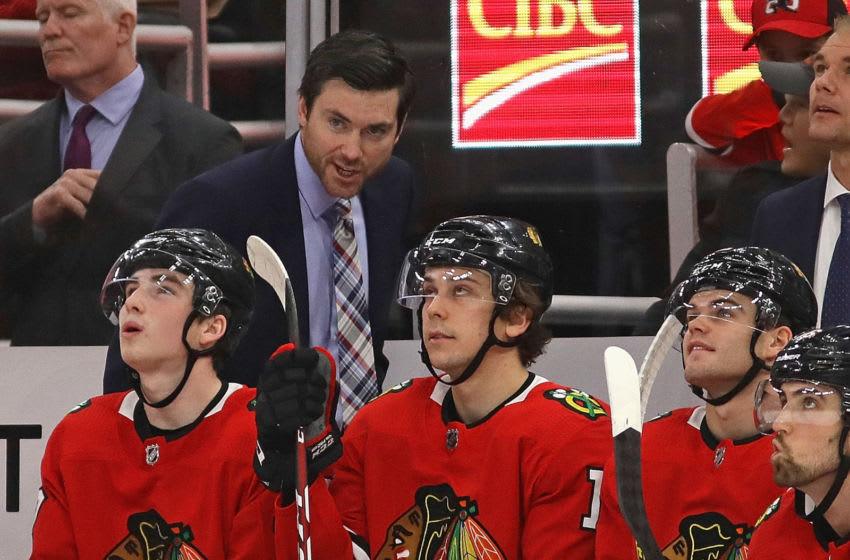 Jeremy Colliton, Chicago Blackhawks (Photo by Jonathan Daniel/Getty Images)