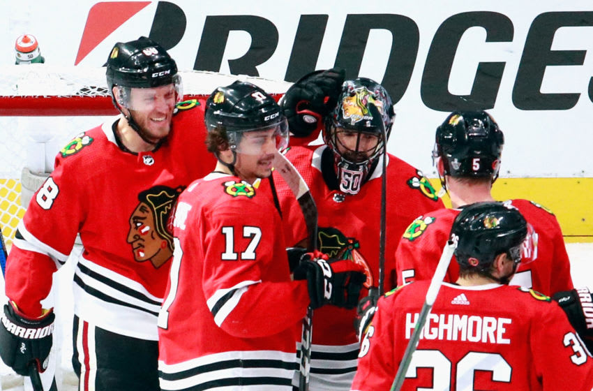 Chicago Blackhawks (Photo by Jeff Vinnick/Getty Images)