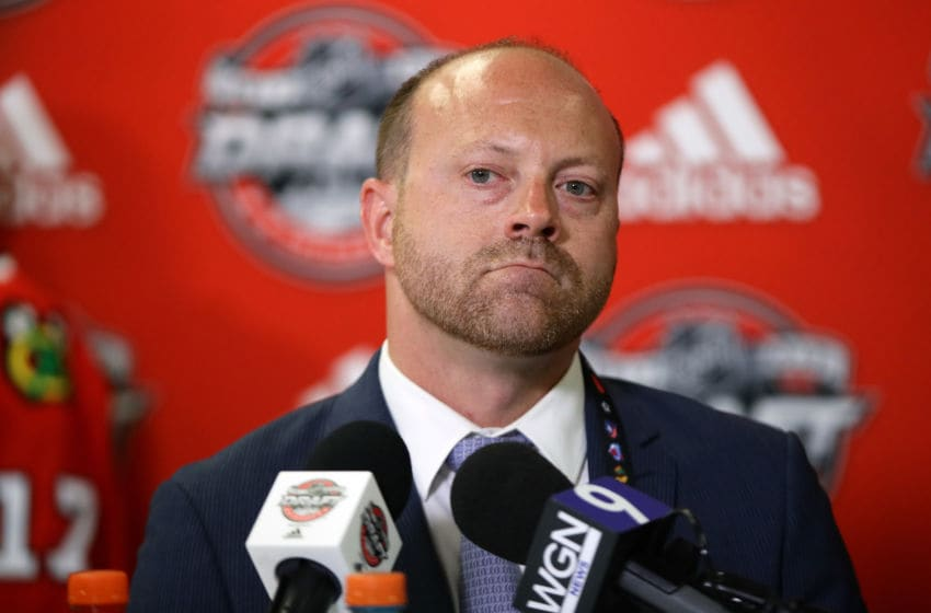 Stan Bowman, Chicago Blackhawks (Photo by Jonathan Daniel/Getty Images)