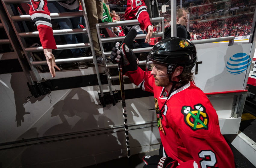 CHICAGO, IL - APRIL 13: Duncan Keith