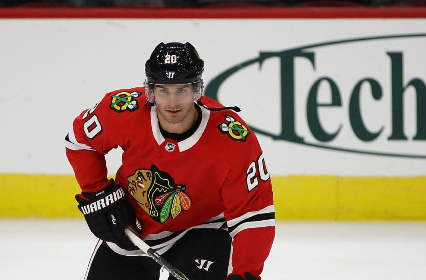 CHICAGO, IL - SEPTEMBER 21: Brandon Saad