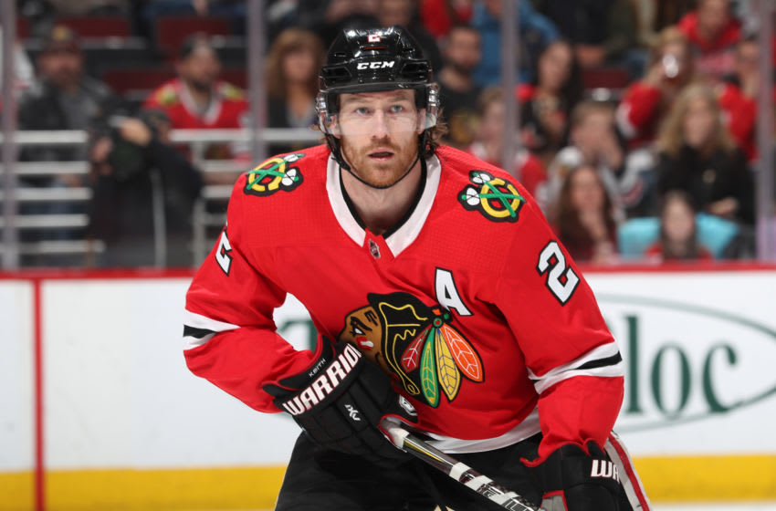 CHICAGO, IL - MARCH 26: Duncan Keith