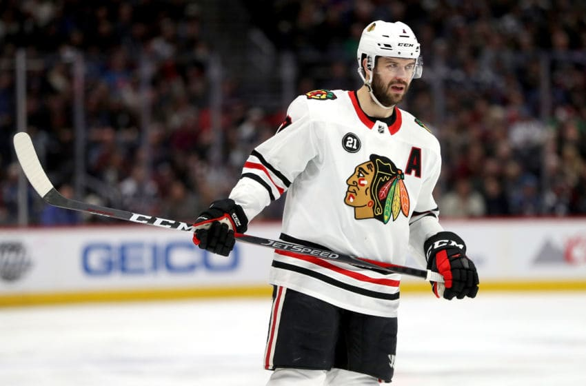 Brent Seabrook #7, Chicago Blackhawks (Photo by Matthew Stockman/Getty Images)