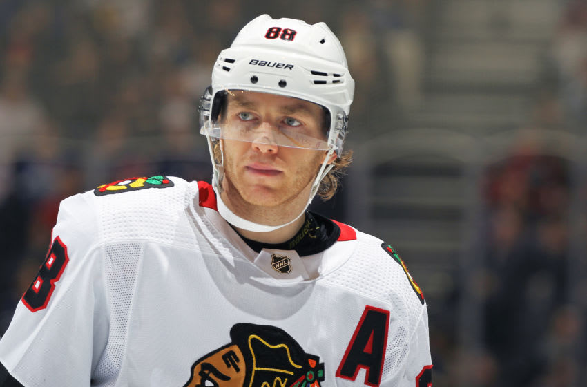 Patrick Kane #88, Chicago Blackhawks (Photo by Claus Andersen/Getty Images)