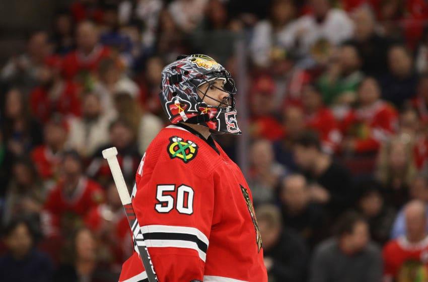 Chicago Blackhawks, Corey Crawford (Photo by Jonathan Daniel/Getty Images)