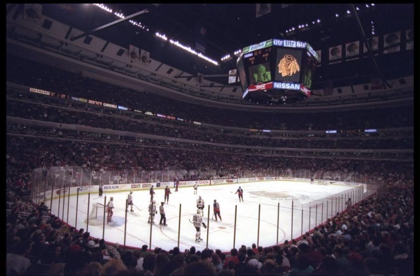 Chicago Blackhawks (Credit: Jonathan Daniel/Allsport)
