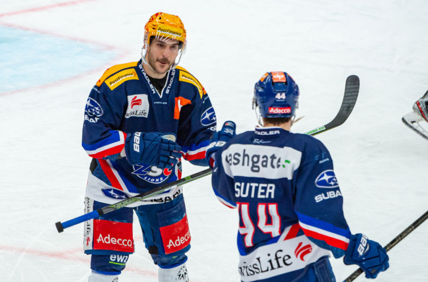 Pius Suter #44 (Photo by RvS.Media/Robert Hradil/Getty Images)