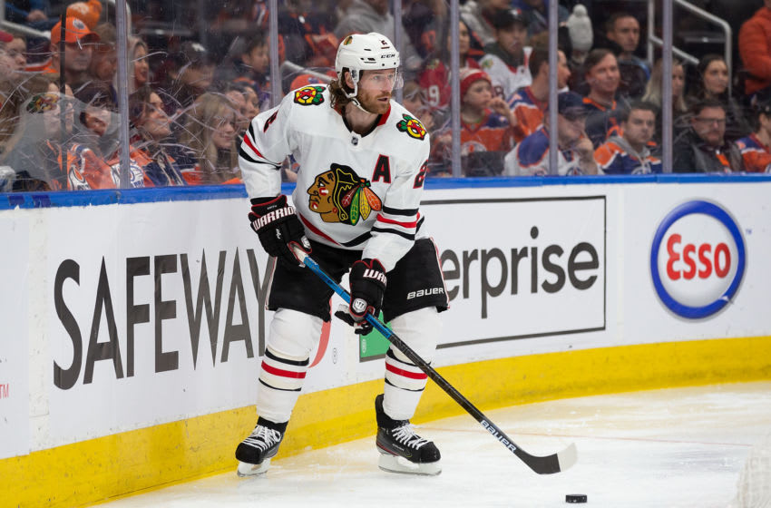 Duncan Keith #2, Chicago Blackhawks (Photo by Codie McLachlan/Getty Images)