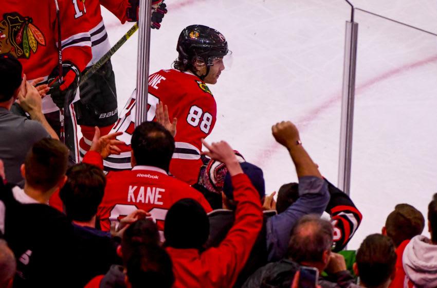 Patrick Kane #88, Chicago Blackhawks Mandatory Credit: Matt Marton-USA TODAY Sports