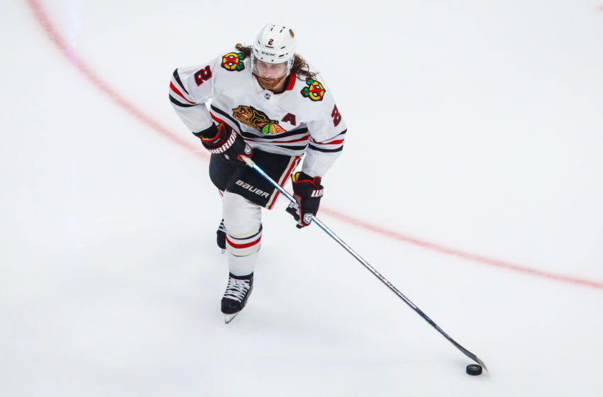 Chicago Blackhawks, Duncan Keith #2 Mandatory Credit: Sergei Belski-USA TODAY Sports