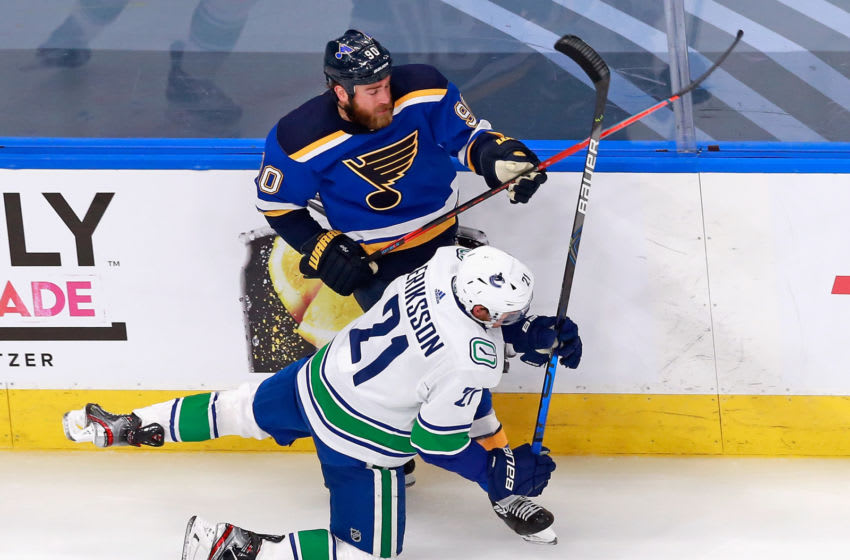 EDMONTON, ALBERTA - AUGUST 14: Ryan O'Reilly #90 of the St. Louis Blues (Photo by Jeff Vinnick/Getty Images)