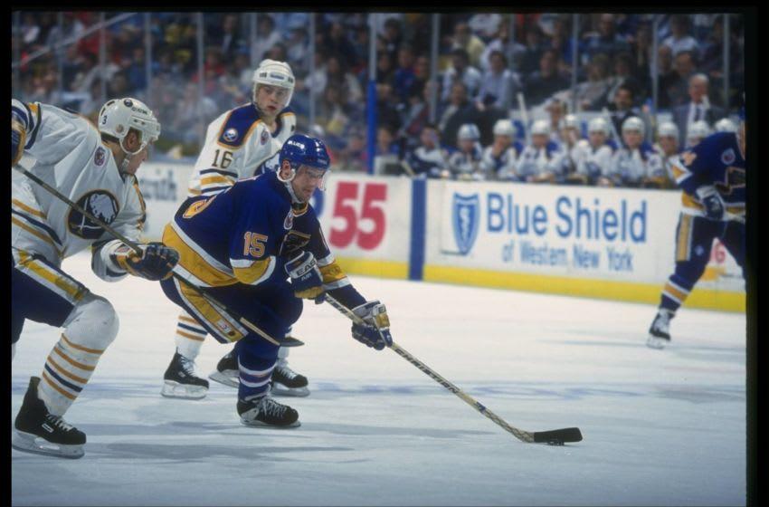 Center Craig Janney of the St. Louis Blues Mandatory Credit: Rick Stewart /Allsport