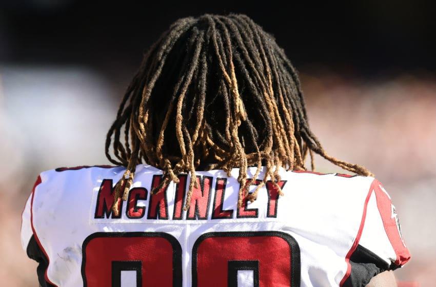 Takkarist McKinley Atlanta Falcons (Photo by Patrick McDermott/Getty Images)