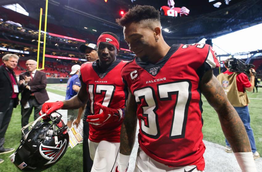 Ricardo Allen Olamide Zaccheaus Atlanta Falcons (Photo by Carmen Mandato/Getty Images)
