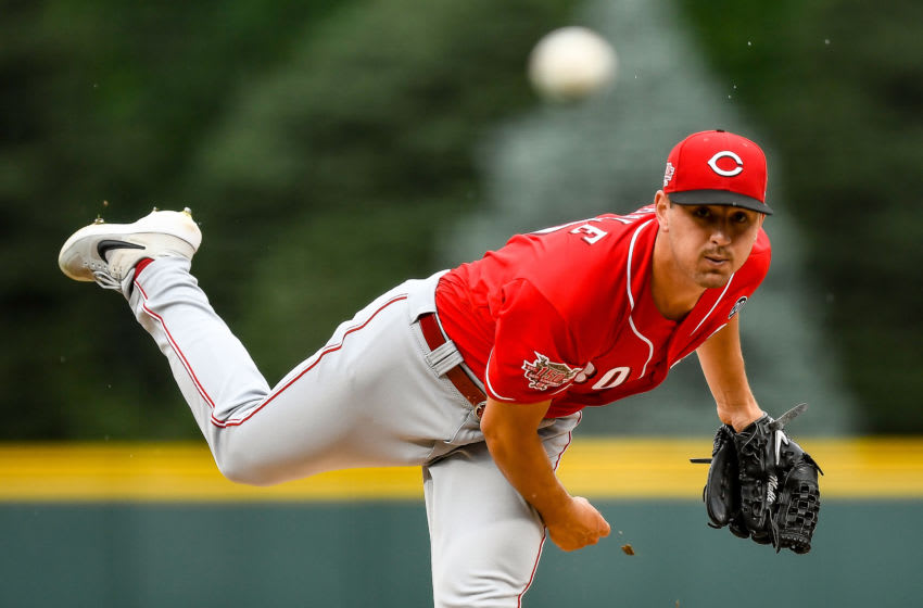 DENVER, CO - JULY 14: Tyler Mahle #30 of the Cincinnati Reds (Photo by Dustin Bradford/Getty Images)