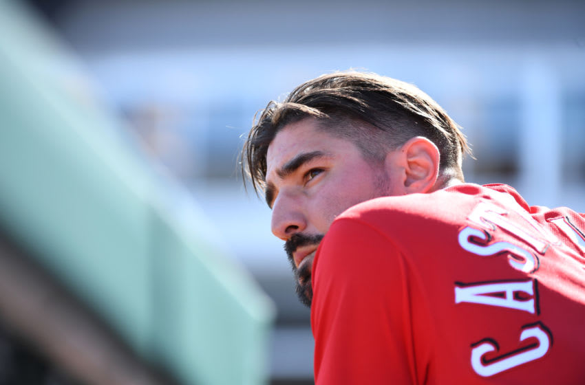 GOODYEAR, ARIZONA - FEBRUARY 24: Nick Castellanos #2 of the Cincinnati Reds (Photo by Norm Hall/Getty Images)