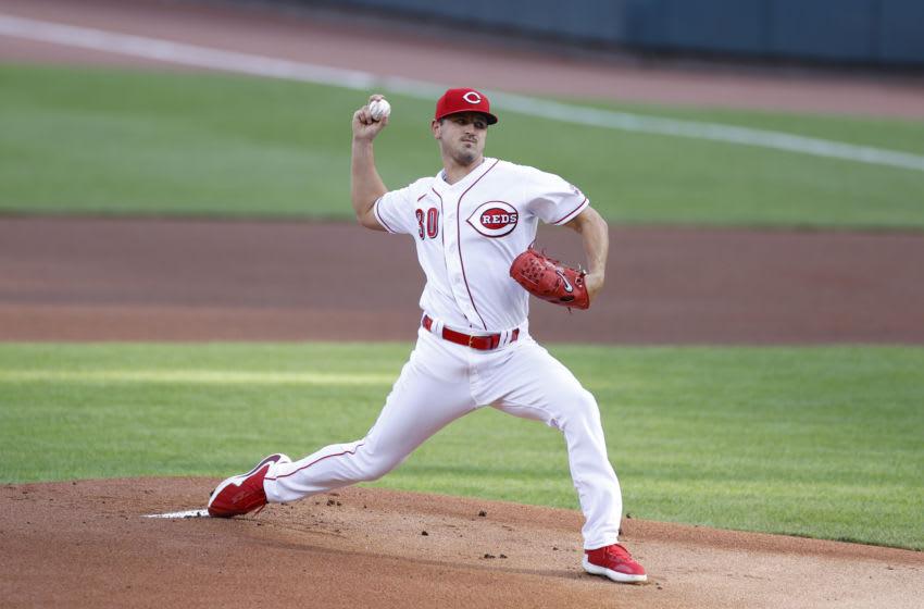 CINCINNATI, OH - JULY 28: Tyler Mahle #30 of the Cincinnati Reds (Photo by Joe Robbins/Getty Images)