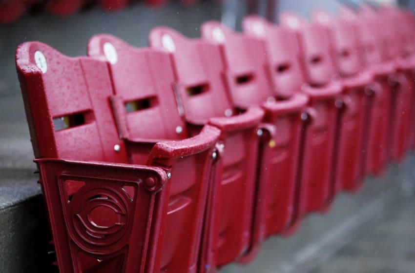 CINCINNATI, OH - MAY 04: Cincinnati Reds at Great American Ball Park (Photo by Joe Robbins/Getty Images)