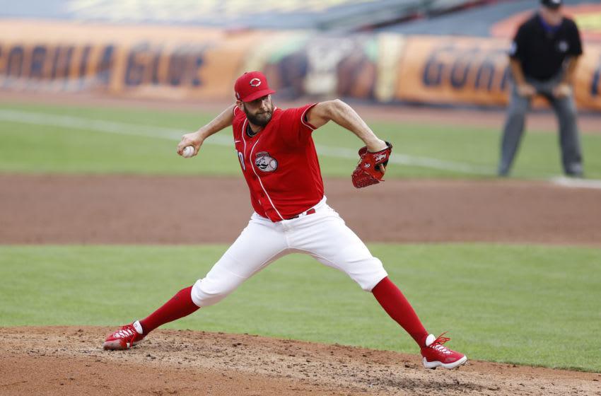 CINCINNATI, OH - JULY 21: Tejay Antone #70 of the Cincinnati Reds (Photo by Joe Robbins/Getty Images)