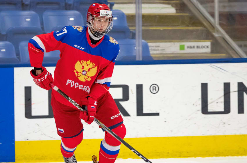 Shakir Mukhamadullin #27 of the U17 Russian Nationals (Photo by Dave Reginek/Getty Images)