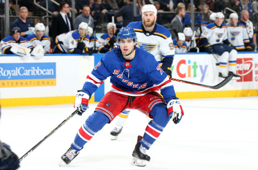 Filip Chytil #72 of the New York Rangers