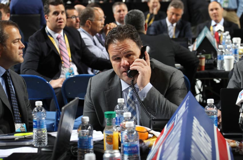 New York Rangers General Manager Jeff Gorton (Photo by Bruce Bennett/Getty Images)