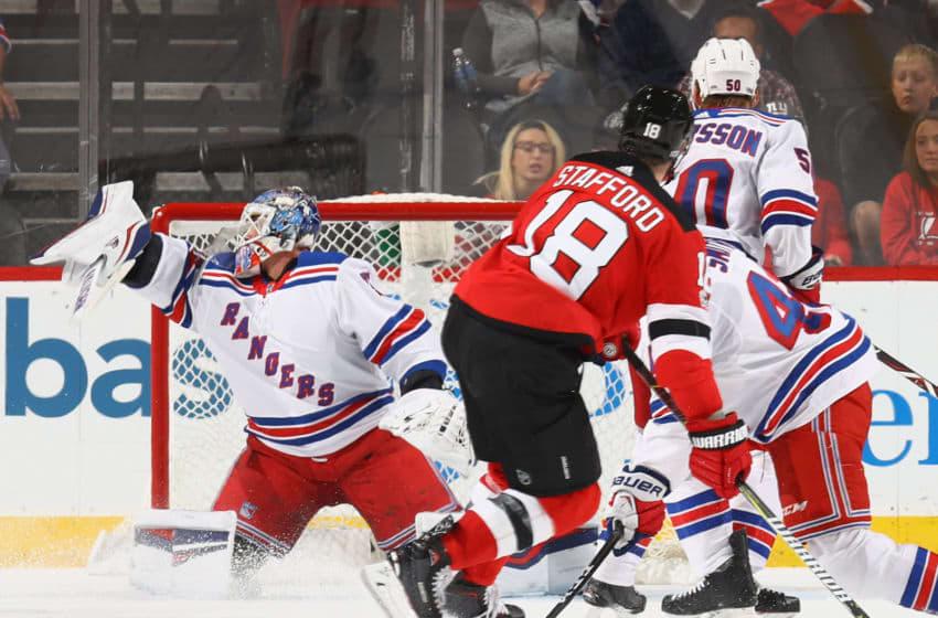 Brandon Halverson #75 of the New York Rangers Photo by Bruce Bennett/Getty Images)