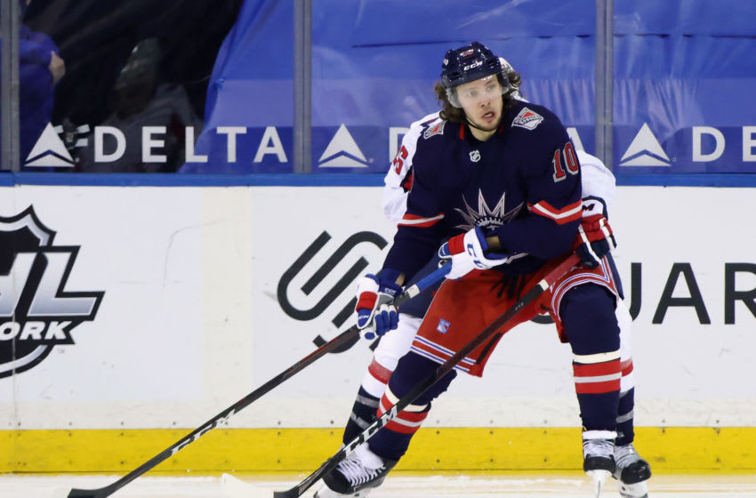 Artemi Panarin #10 of the New York Rangers (Photo by Bruce Bennett/Getty Images)