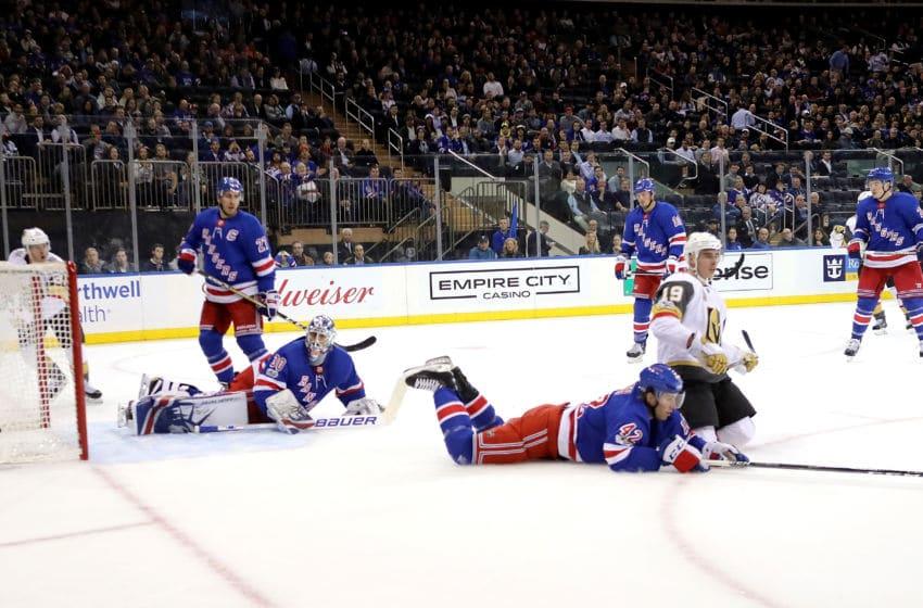 NEW YORK, NY - OCTOBER 31: Henrik Lundqvist