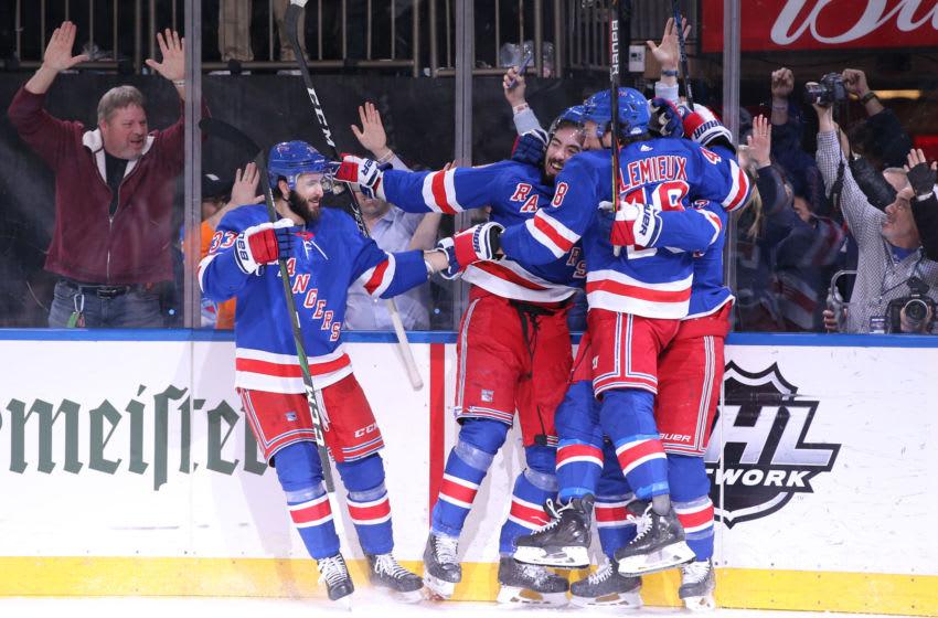New York, New York, USA; New York Rangers center Mika Zibanejad. Mandatory Credit: Brad Penner-USA TODAY Sports