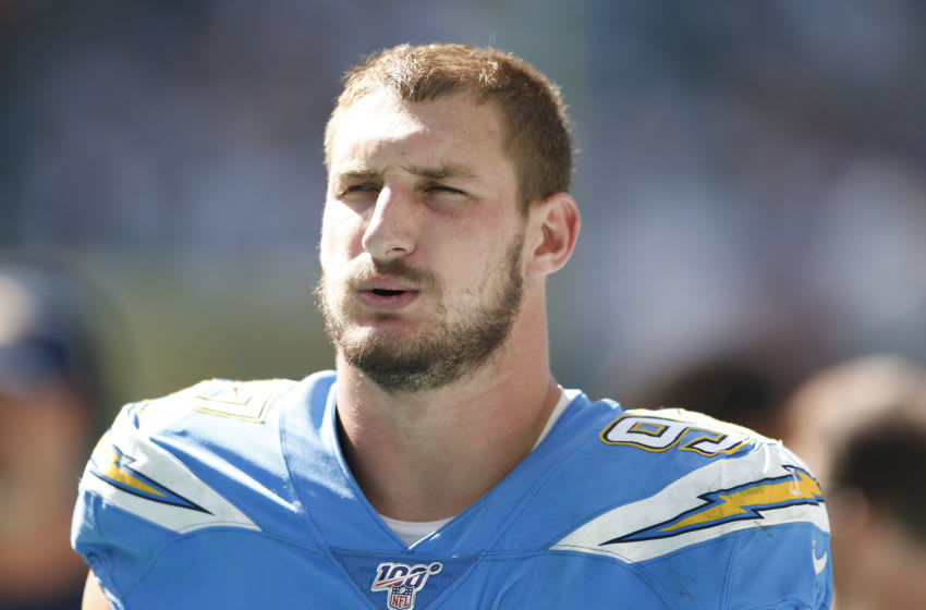 Joey Bosa #97 of the Los Angeles Chargers (Photo by Michael Reaves/Getty Images)