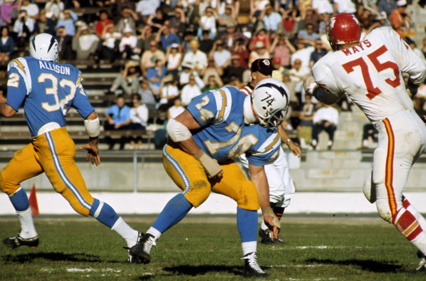 (Photo by James Flores/Getty Images) - LA Chargers