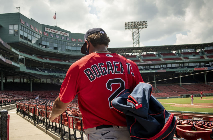 Red Sox shortstop Xander Bogaerts (Photo by Billie Weiss/Boston Red Sox/Getty Images)