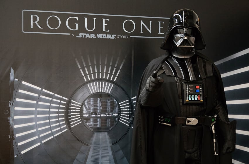 AUSTIN, TX - MARCH 10: SXSW Attendees Join The Rebellion Through An All-New Immersive Adventure by 'Rogue One: A Star Wars Story,' March 10-12 at Grimes Studio on March 10, 2017 in Austin, Texas. (Photo by Rick Kern/Getty Images for Walt Disney Studios Home Entertainment )