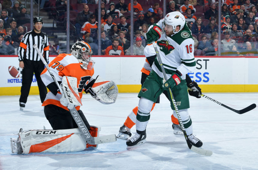 Carter Hart, Philadelphia Flyers(Photo by Drew Hallowell/Getty Images)