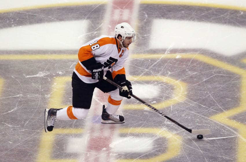 Mike Richards, Philadelphia Flyers (Photo by Bruce Bennett/Getty Images)