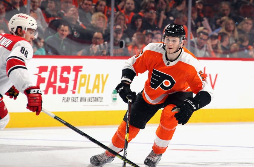 Samuel Morin, Philadelphia Flyers (Photo by Bruce Bennett/Getty Images)