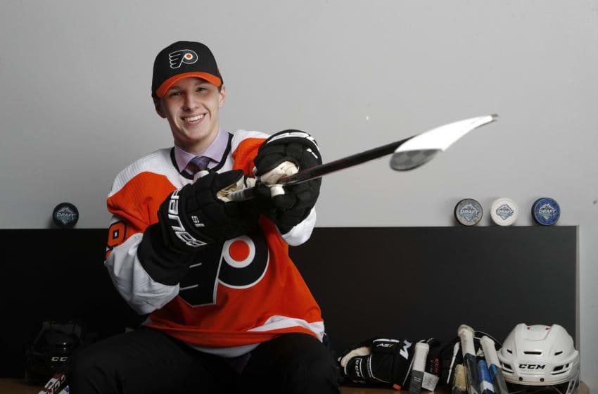 Mason Millman, Philadelphia Flyers (Photo by Kevin Light/Getty Images)