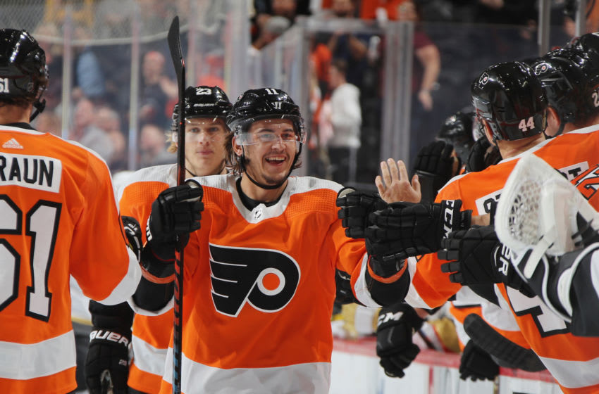 Travis Konecny, Philadelphia Flyers (Photo by Bruce Bennett/Getty Images)