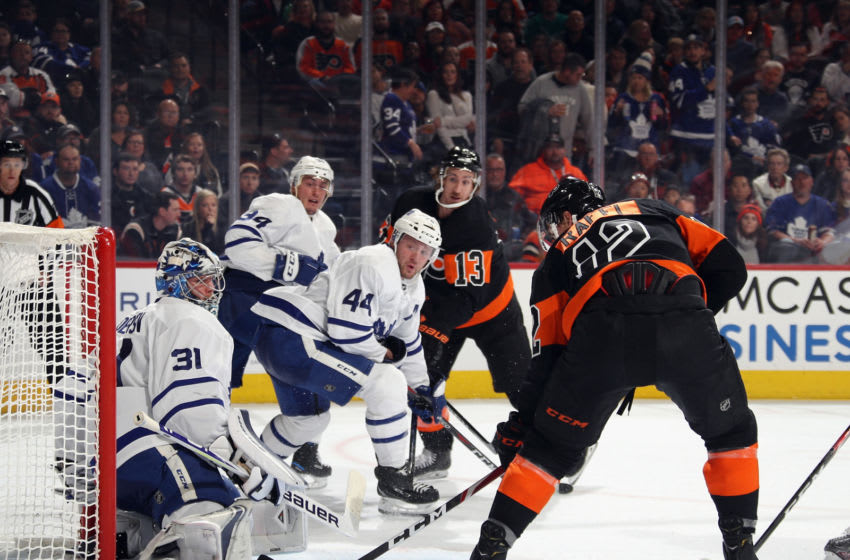 Michael Raffl, Philadelphia Flyers (Photo by Bruce Bennett/Getty Images)