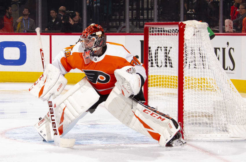 Carter Hart, Philadelphia Flyers (Photo by Mitchell Leff/Getty Images)